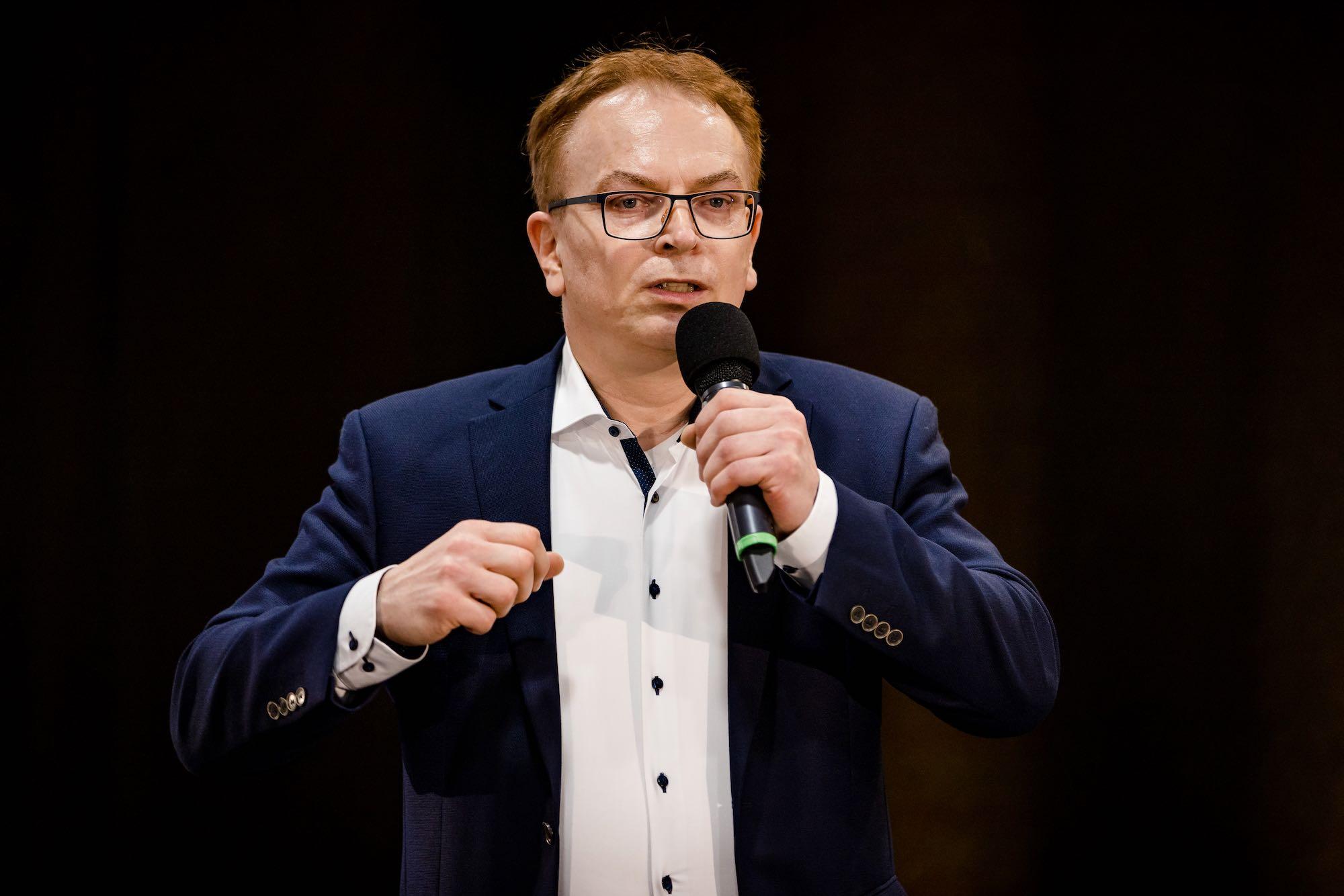 Wolfgang Schmid im Vortrag 2