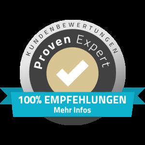 Kundenbewertung Proven Expert Wolfgang Schmid